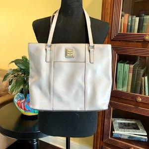 Dooney & Bourke Saffiano Lexington Shopper in Grey